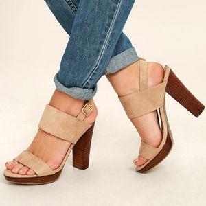 LARAVI NEW Lawrena platform heels from REPORT 7.5…